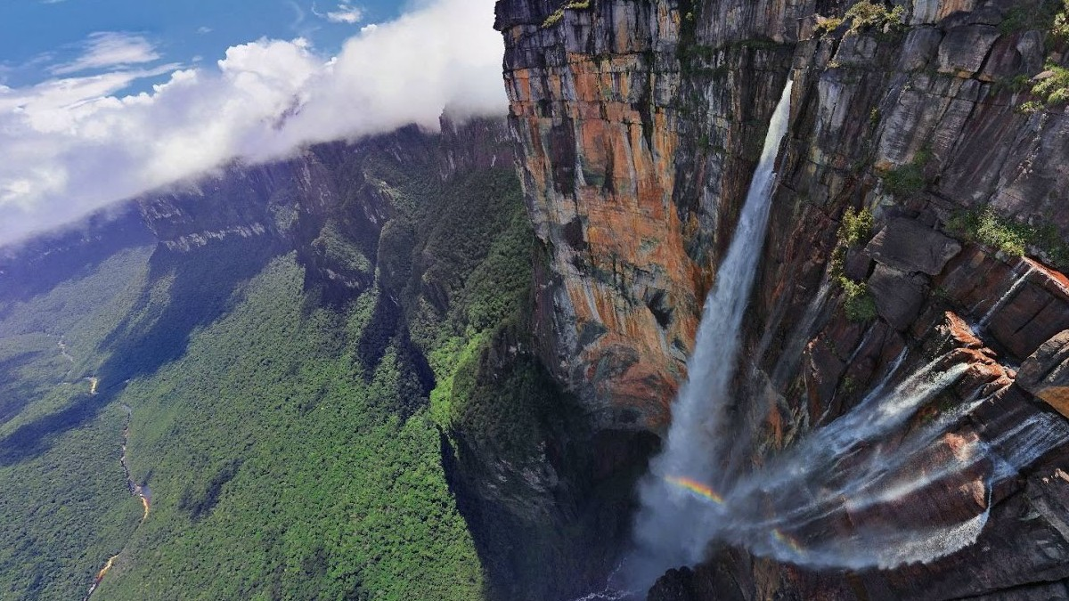 salto del angel venezuela foto medium