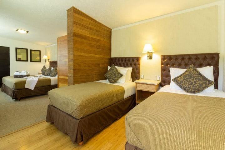 ¿No sabes dónde hospedarte en Tequisquiapan? Las habitaciones del Hotel Río son muy confortables. Foto: Hotel Río Tequisquiapan | Facebook