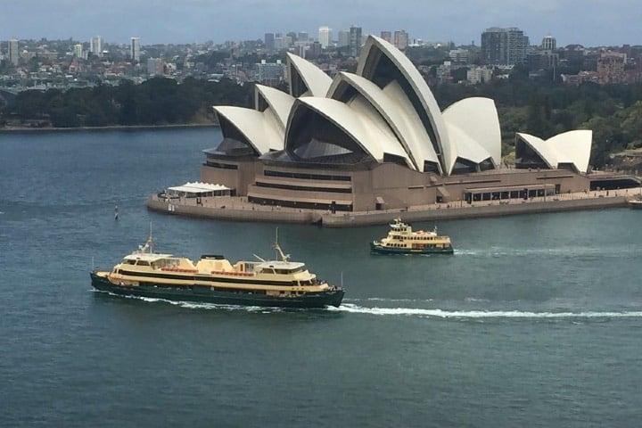 ¿Reconoces la casa de la ópera de Sydney? Sale en una película... Foto: Archivo