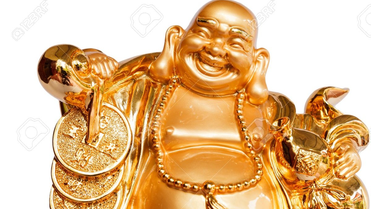 Buda sonriente. Imagen: China
