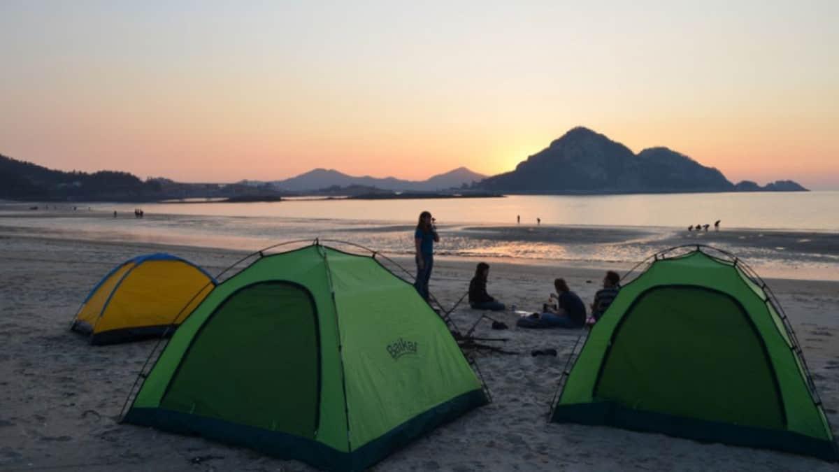 Acampa en las playas de Tulum Foto_ Playas de México