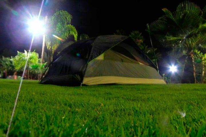 Acampar en el parque Foto: Parque Ecoalberto