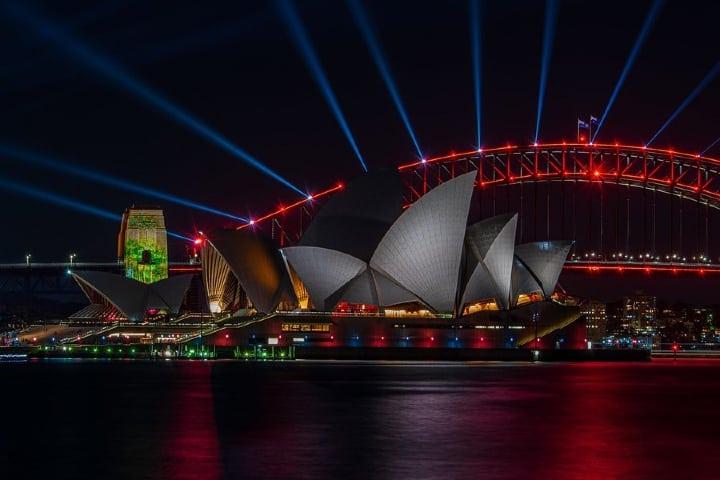 Admira Sydney de noche, sin duda algo hermoso. Foto: Archivo