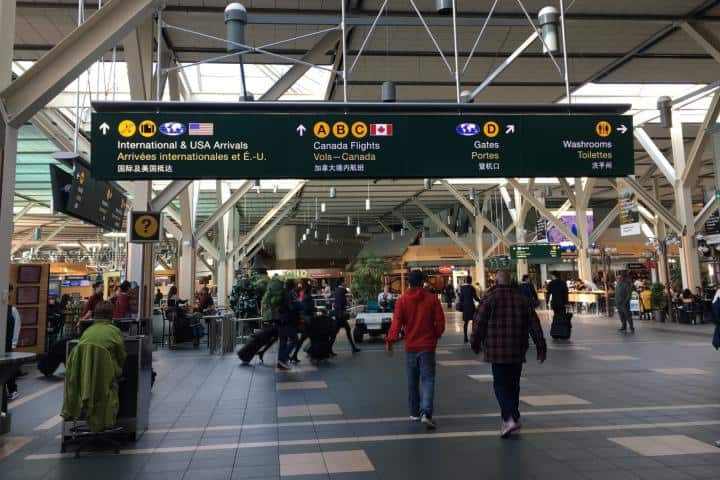 Aeropuerto YVR. Foto: News 1130