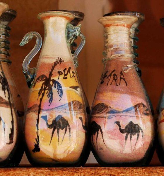 Arenisca, el souvenir de Jordania. Foto Geological Fun