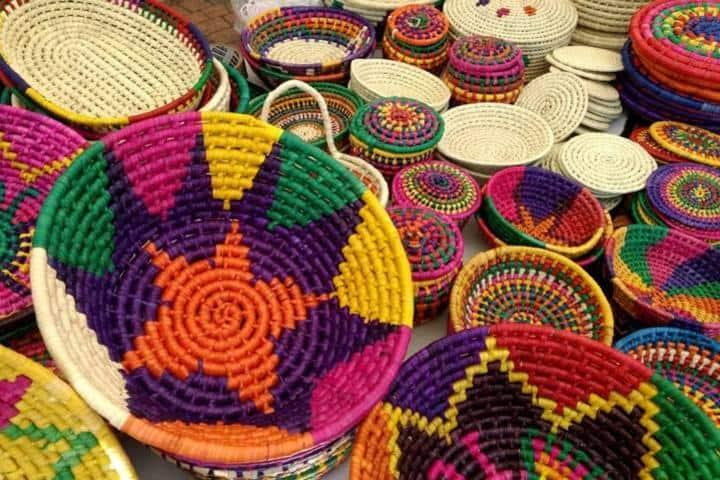 Artesanías de Tangamandapio Foto: Elizabeth Ríos