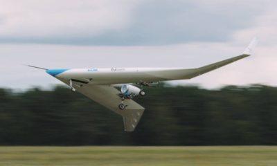 Avión Flying-V. Foto: Archivo