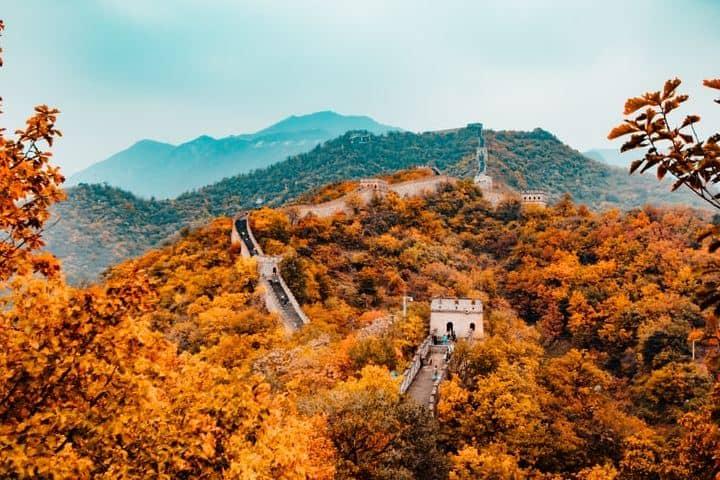 Bailando por todo China. Muralla China. Imagen. Hanson Lu