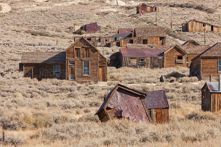 Las casas abandonas Foto: Stocksy United