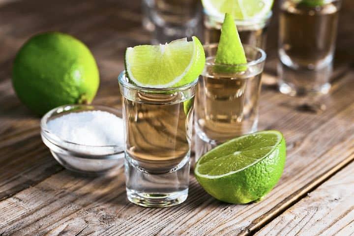 Caballitos de tequila. Foto: Archivo
