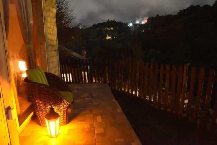 Cabaña Encinos en Real del Monte Foto: Real del Monte