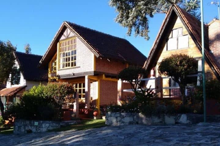 Cabañas Villa Alphina Foto: Guia Hidalgo