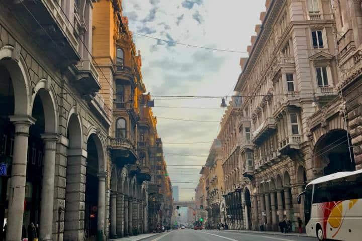 Una hermosa vista de Génova Foto: Ximena Martínez