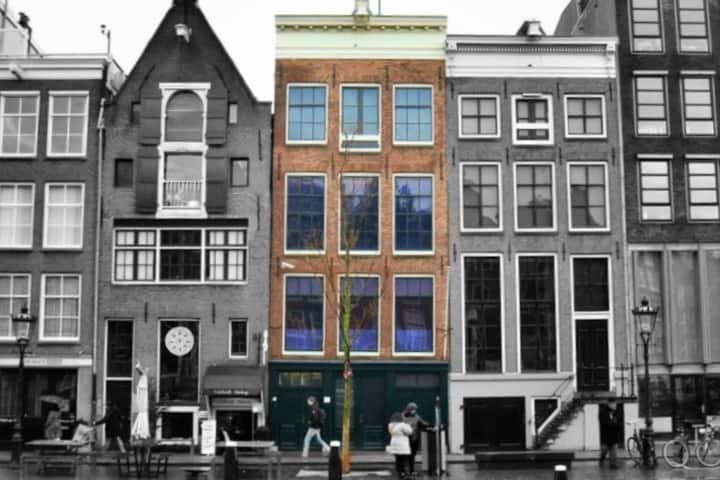 Casa de Ana Frank. Foto: Museos del Mundo
