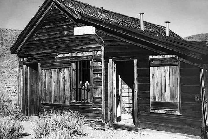 Casa abandonada en el Pueblo fantasma de Bodie Foto: Las Vegas Review Journal