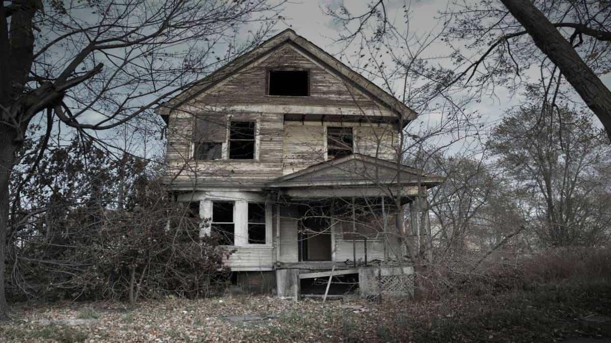 Casa embrujada Foto Archivo