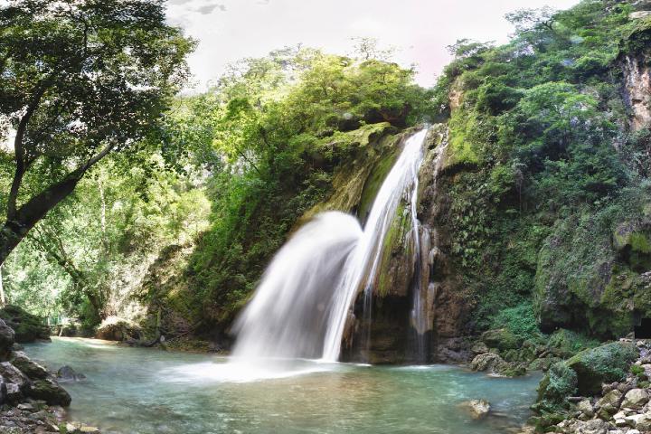 Una hermosa caída de agua Foto: Wikimedia commons