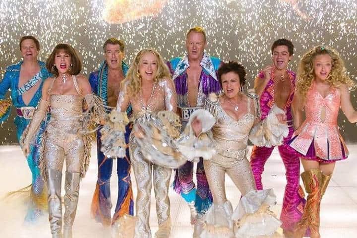 Cast de Mamma Mía. Foto mammamiamovie