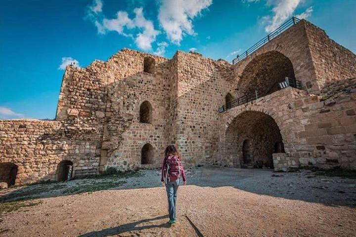 Castillo Karak por dentro. Foto: jordan_journey