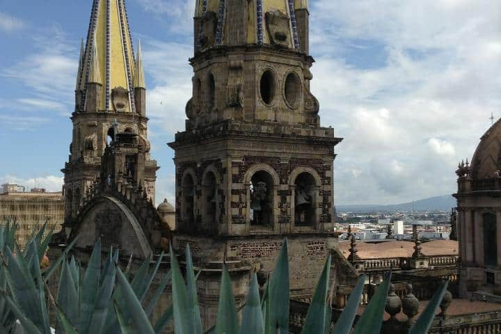 La estructura de la Catedral de Guadalajara es magnífica. Foto: Archivo