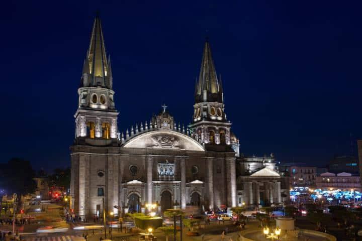 Catedral de Guadalajara. Foto: Archivo