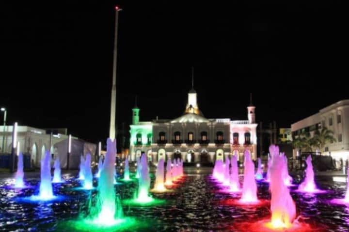 Centro de Villahermosa, Tabasco Foto: Jonathan Saúl