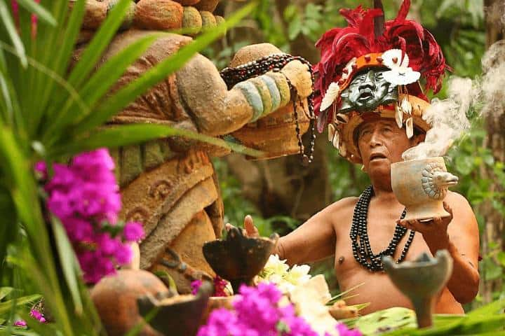 Ceremonia Maya Foto: Revista Explore