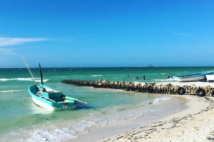 Chelem, Yucatán, uno de los destinos de playas mexicanas de tendencia. Foto: Maya Turistic