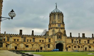 Christ Church College, Oxford, una de las locaciones de Harry Potter. Foto: Archivo