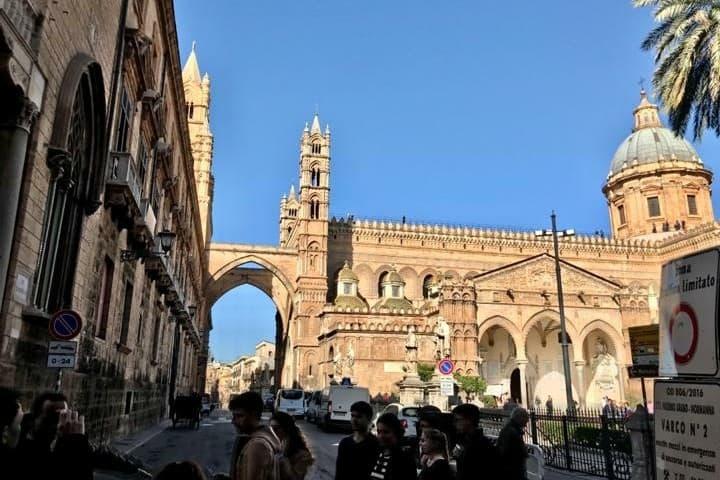 Calles de Palermo en mi viaje a  Europa Foto: Ximena Martínez