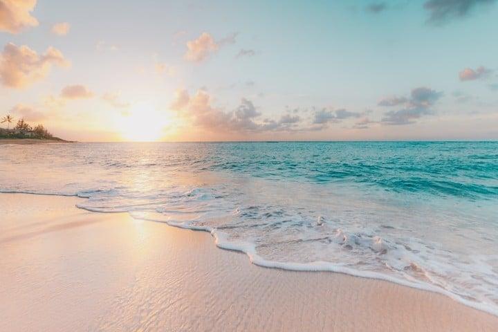 Como entrenar tus cinco sentidos al viajar. Mar. Imagen. Sean O