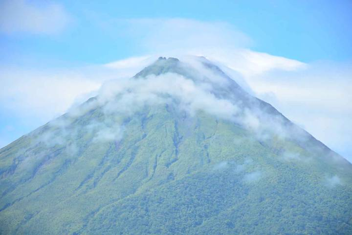 El volcán retomando su carácter Foto: Viajando. Imágenes y sensaciones