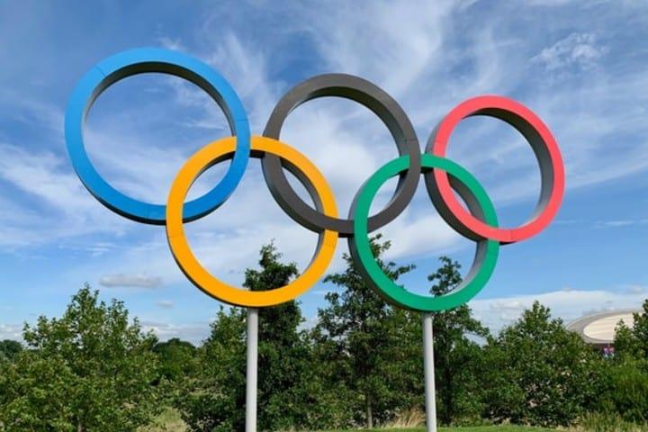 Cuerpos esculturales en Brasil. Simbolo Juegos Olímpicos. Imagen. Kyle Dias