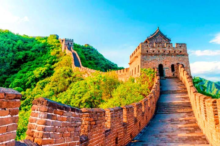 Datos de la Muralla China. Foto: Wix.com
