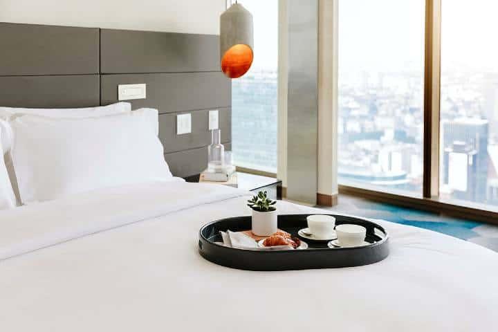 Desayuno Habitación Foto: Sofitel Mexico City Reforma