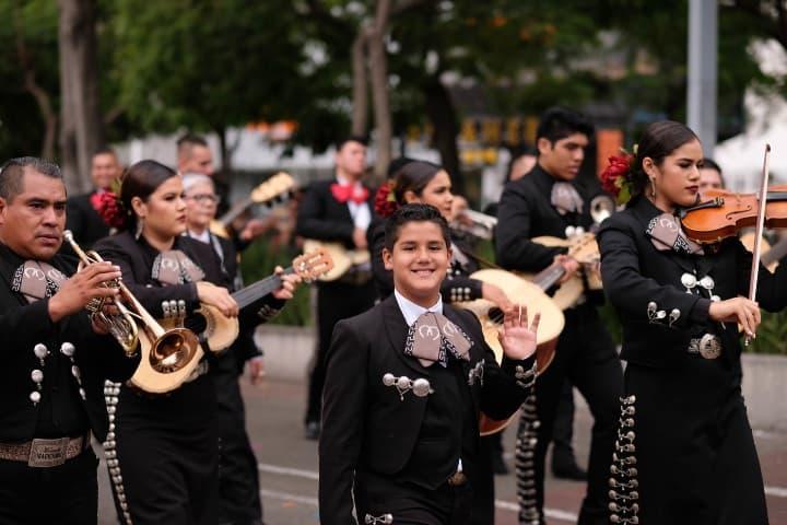 Desfile de Mariachis. Foto: Raquel Fabregat Moliner s