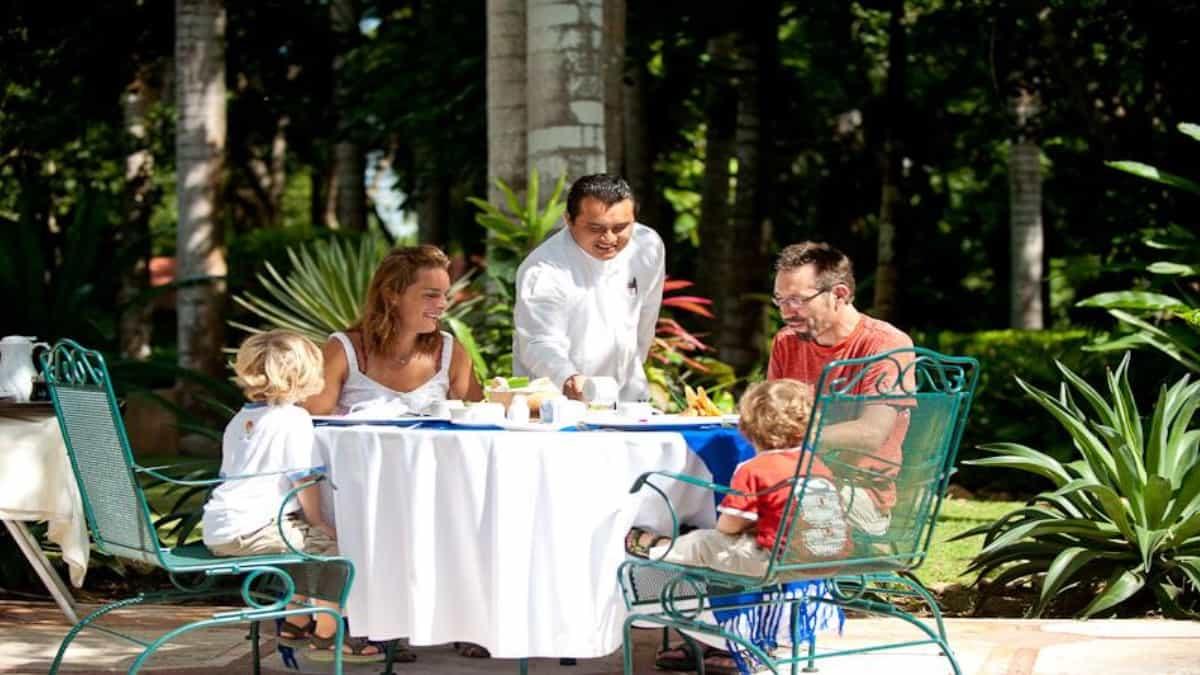 Disfruta con la familia en Hacienda Chichén Foto: Tripadvisor