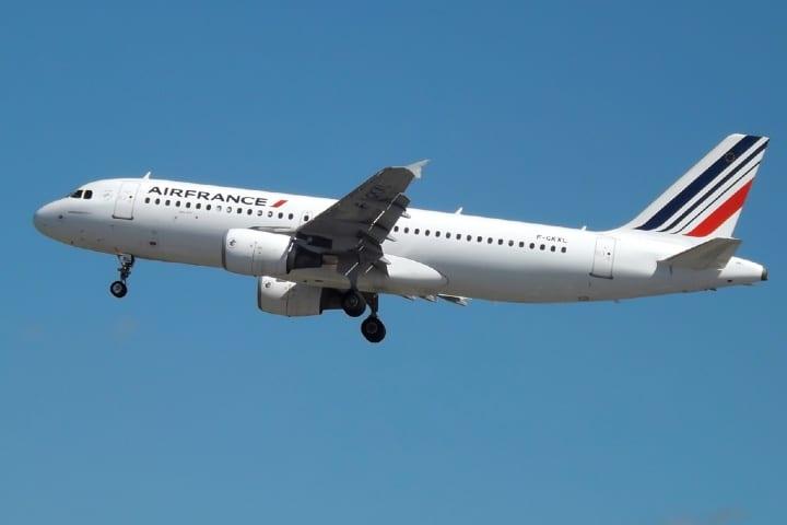 Disfruta de la experiencia de los vuelos de Air France. Foto: Mark Harkin
