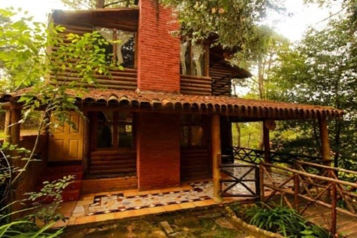 Disfruta en las cabañas de Mazamitla. Foto: El Pinito Mazamitla