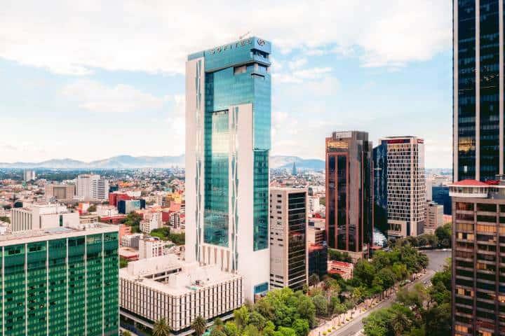 Edificio Hotel Sofitel Foto: Sofitel Mexico City Reforma