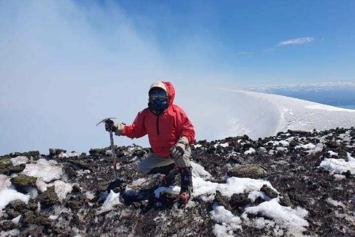 Cráter del volcán Villarrica Foto: Impulso viajero