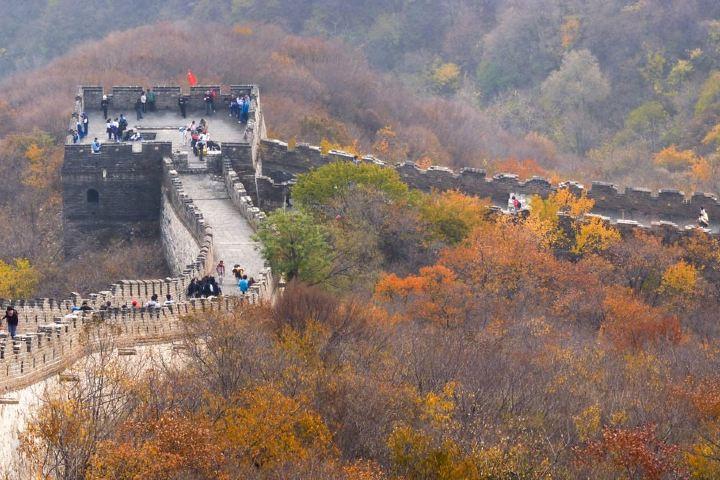 Los cimientos de la Muralla China están forjados con la valentía de los habitantes de China. Foto: Francois Renocourt