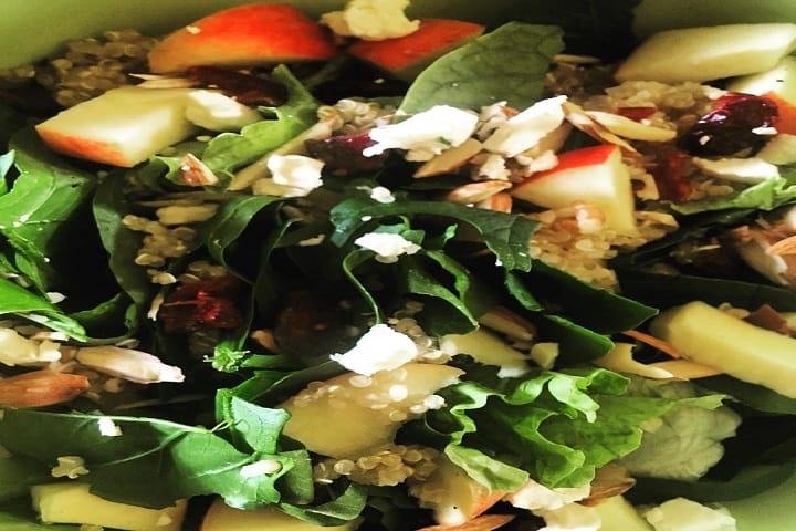 ¿A poco no se te antojó una deliciosa ensalada artesanal? Foto: Xic Xanac