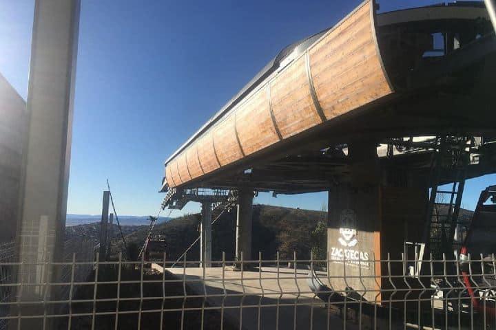 Estacion de abordaje del teleférico de Zacatecas. Foto: heeygarcia13