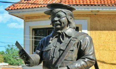 Estatua de Jaimito el Cartero Foto: Archivo