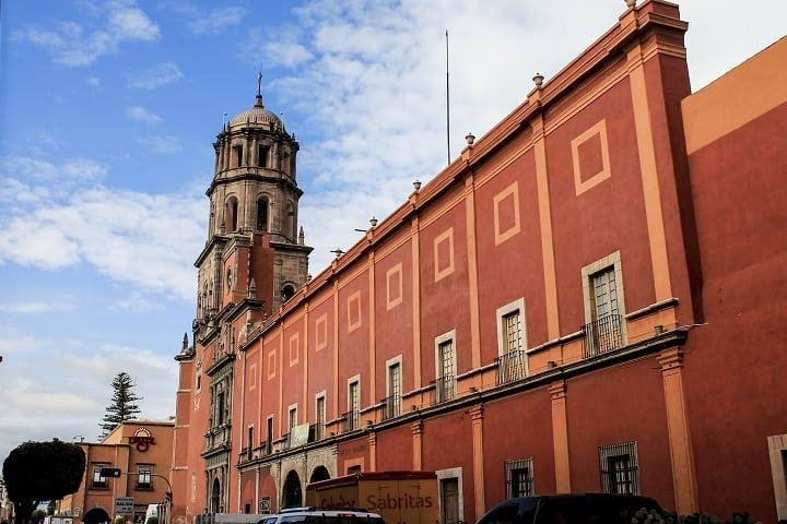 Así luce el exterior del Museo Regional de Querétaro. Foto: Carlos Torres