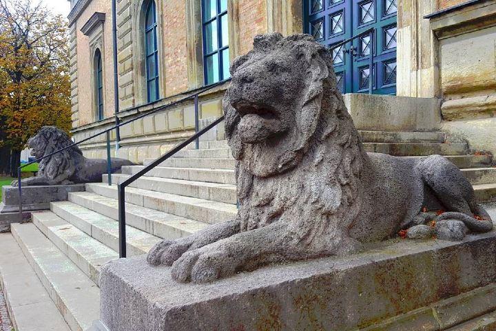 Esta es a fachada del Museo de Artes de la vieja Pinacoteca en Múnich. Foto: E.L.L.En