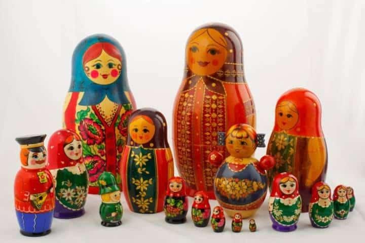 Familia completa de Matrioshka Foto: Sadko-shop.ru