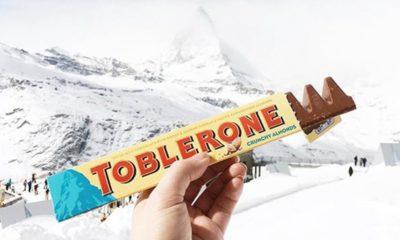 Chocolate Toblerone en los viajes.Foto. Clementine Ym
