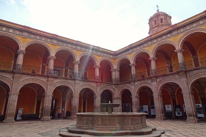 Este es el interior del Museo Regional de Querétaro, se ve muy bonito, ¿No? Foto: Paul Navarro
